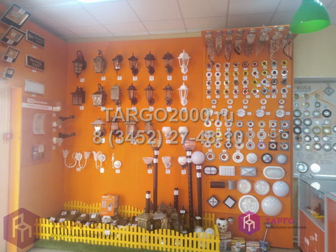 Оформление магазина электрики