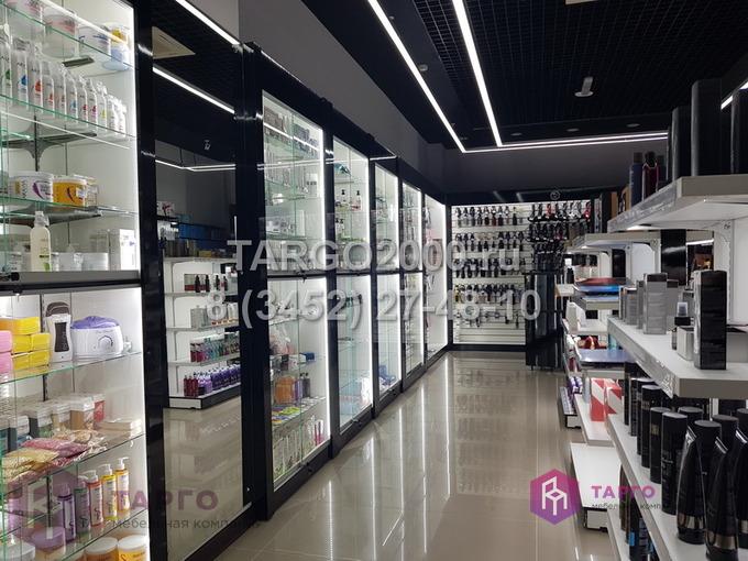 Торговое оборудование для магазинов косметики
