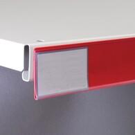 Ценникодержатель L1200 мм (красный) Н39мм