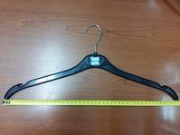 Вешалка для трикотажа и легкой одежды, 440 мм, пластик черный, P520G