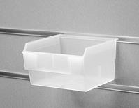 Короб пластиковый прозрачный,145*140*95 мм, 01-08-D-CL с кармашком для ценника