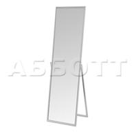 Зеркало примерочное напольное, зеркальное полотно 1490х370мм, рама- алюм. профиль