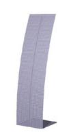 """Стойка рекламная """"Парус"""", перфорированная, 350 мм., полимерное покрытие, цвет синий"""