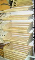 Полка хлебная навесная 900х450х85 (дерево)