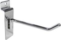 Крючок для экономпанели 100 мм D4 хром (от упаковки, по 200шт)