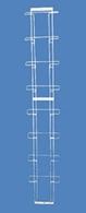 Полоса для прайс-листов на 8 карманов А4