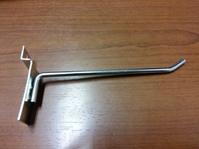 Крючок для экономпанели 150 мм D6 хром цинк