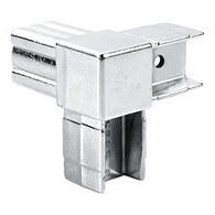 ПРИМО ТР-01 Соединитель 3-х труб 25*25 угловой (У-образный) хром