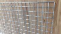 Панель- сетка 200х80 см (решетка хром-цинк)