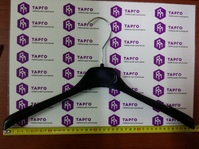 Вешалка для трикотажа и легкой одежды, 420 мм, пластик черный, Абботт Х573A
