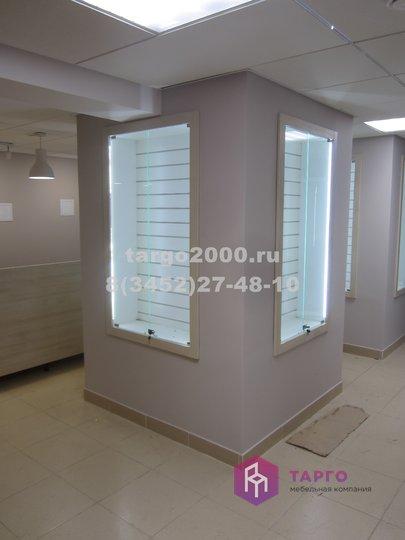 Встроенная витрина с экономпанелью