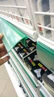Ценникодержатель ПВХ 1000 зеленый H39 (для полки с С-образным профилем)