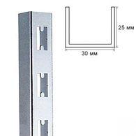 GL1 Стойка настенная 2395 мм хром БУ