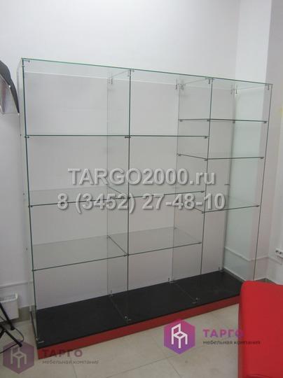 Стеклянная витрина для фотоцентра