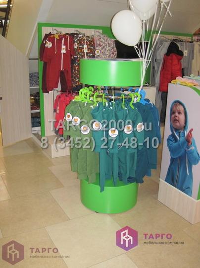 Круглое вешало для детской одежды