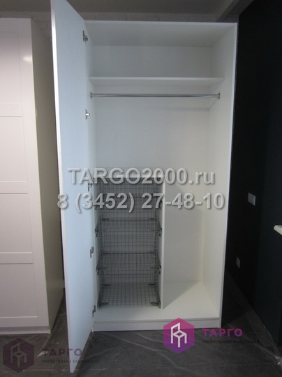 Шкаф с выдвижными корзинами