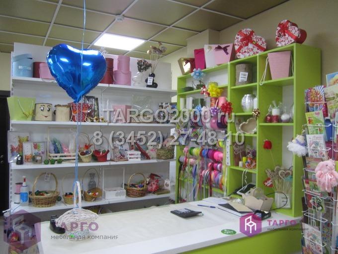 Торговое оборудование для цветочного магазина