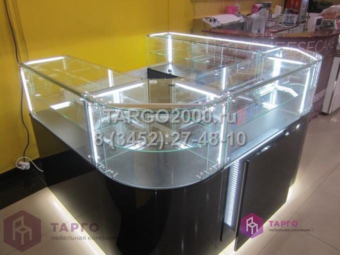 Островные витрины с гнутыми стеклами Rafam 2.JPG