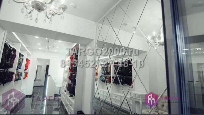 Зеркальные плитки для магазинов нижнего белья