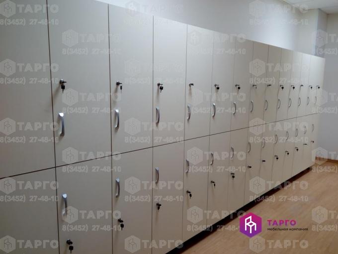 Шкафы для раздевалки (ЛДСП Ваниль)